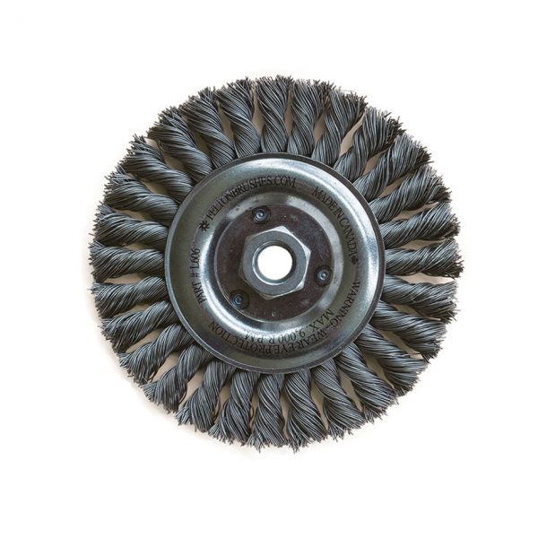 Cable Twist Knot Wire Wheel Brush
