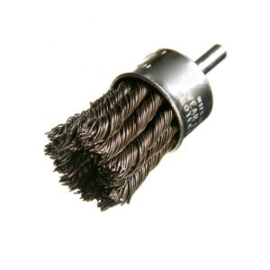 Knotted Wire Deburring Brush for Metal Fabrication