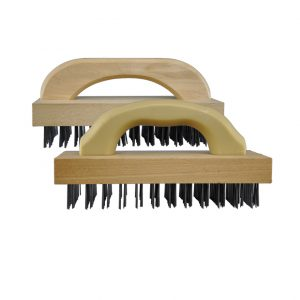Flat Wire Butcher Block Scratch Brush