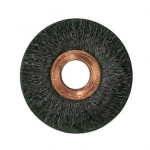 Encapsulated Copper Center Wire Wheel Brush