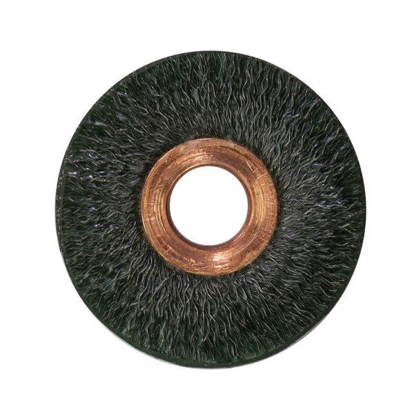 Encapsulated Copper Center Wire Wheel Brush