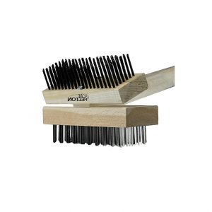 Double-Sided Angled Grill Cleaning Brush
