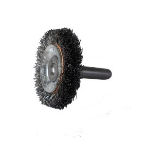 Crimped Wire Concave End Brush