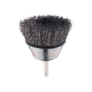 End Brush Crimped Cup