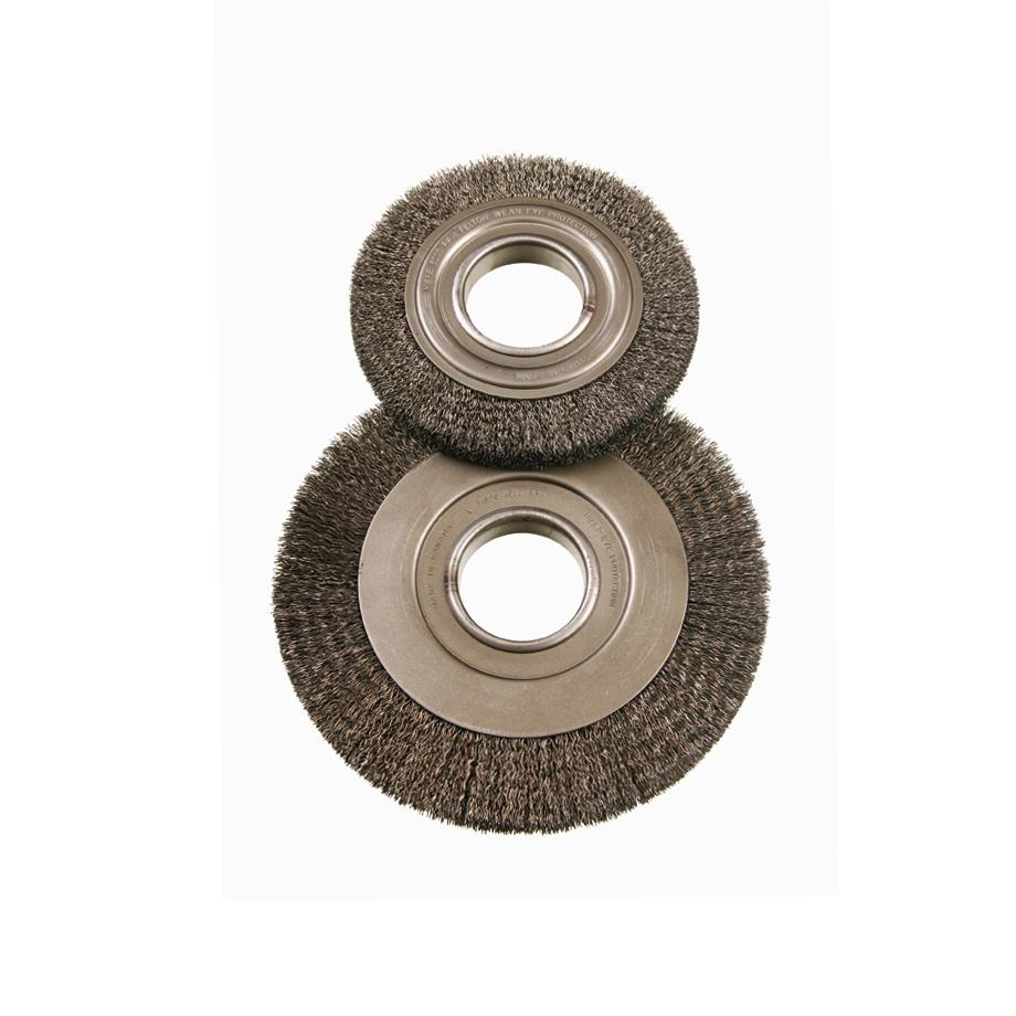 1//2 Arbor Standard Twist Knot Wire Wheel Pack of 5 25000 RPM 20 Knots 3//8 Brush Face Steel Fill Felton Brushes K303 - 3 Diameter 5//8 Trim.014 Wire