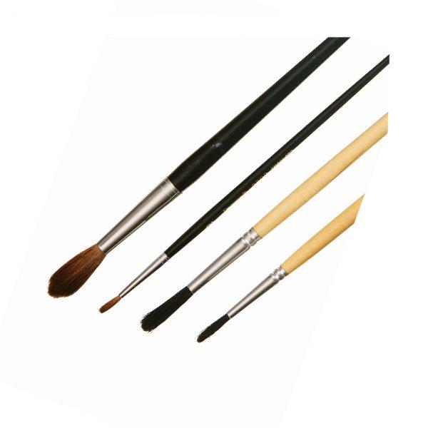 Marking Artist Brushes