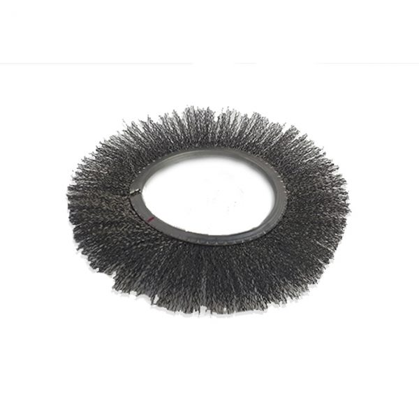 Crimped Wire Brush for Nuclear Plants