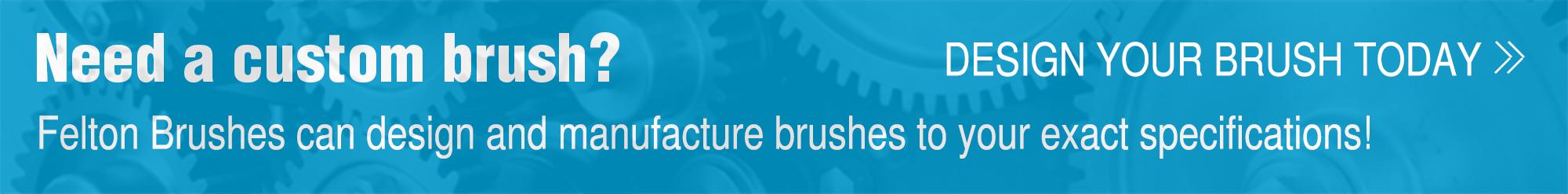 custom brush banner