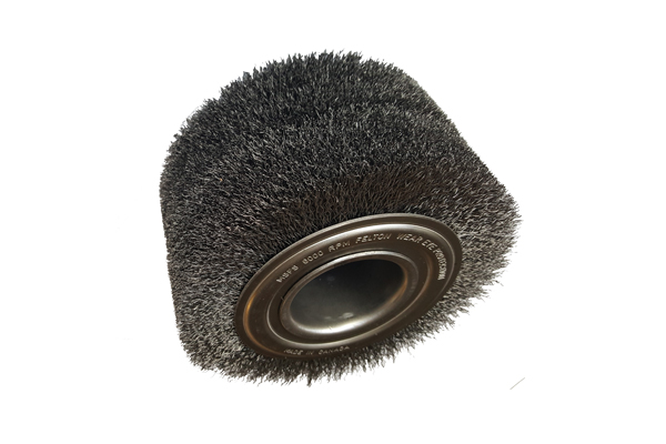 tube end deburring brush